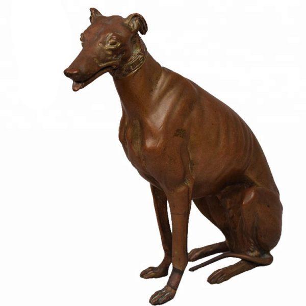 1J208014 Life Size Dog Statue Resin (4)