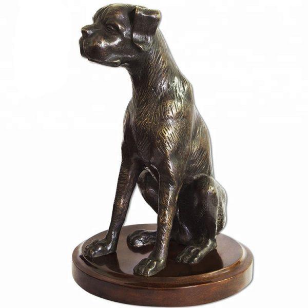 1J208014 Life Size Dog Statue Resin (5)