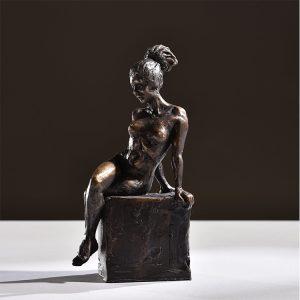 1JA16004 Nude Woman Statue Bronze Design (2)