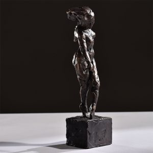 1JA16005 Naked Lady Statue Bronze (3)