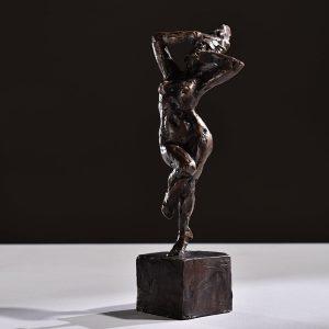 1JA16006 Nude Female Statue Bronze (5)
