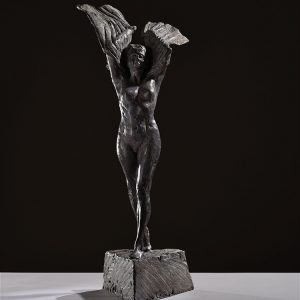 1JA16007 Naked Woman Sculpture Bronze (2)