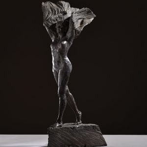 1JA16007 Naked Woman Sculpture Bronze (5)