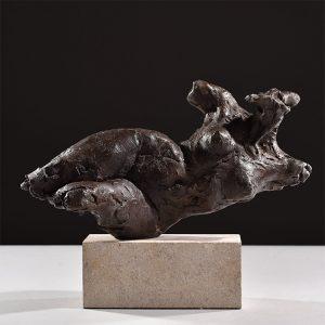 1JA16008 Nude Woman Sculpture Bronze (1)