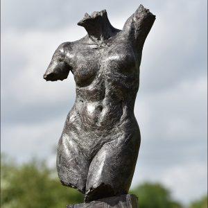 1JA16009 Naked Female Statue Bronze (1)