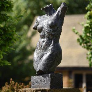1JA16009 Naked Female Statue Bronze (2)