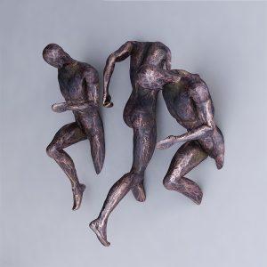 1K908003 Moderne Skulpture Trčeći čovjek (3)
