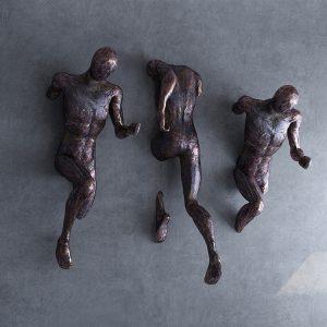 1K908003 Moderne Skulpture Trčeći čovjek (6)