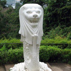 1K929003 Merlion Sculpture Stone China Maker (5)